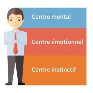 Ennéagramme les 3 centres mentaux
